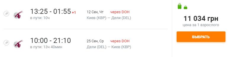 Киев Дели Киев