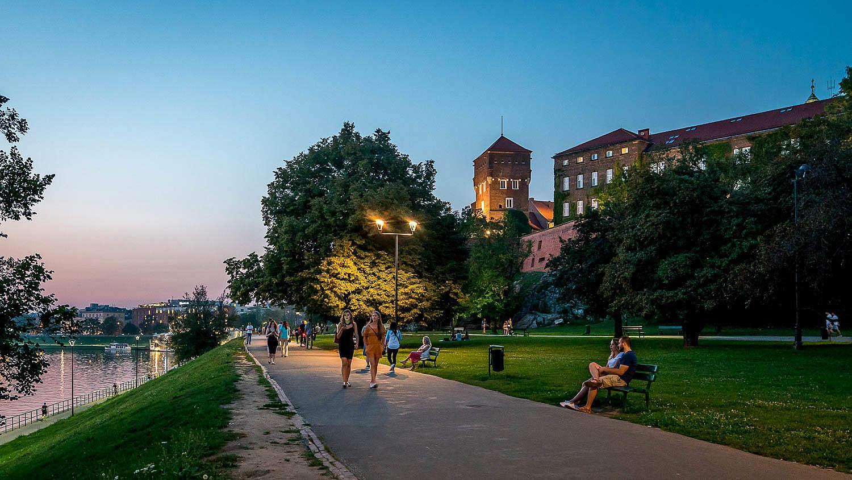 Вислинские бульвары Краков