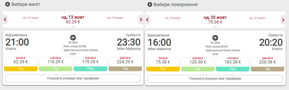 Харьков - Милан