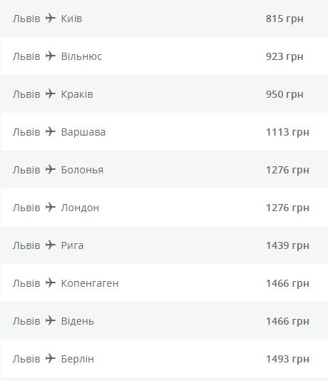 акционные билеты МАУ со Львова