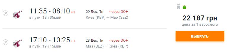Киев - Сешелы